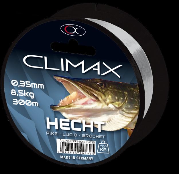 Bild von 300m 0,35mm Zielfisch Hecht hellgrau