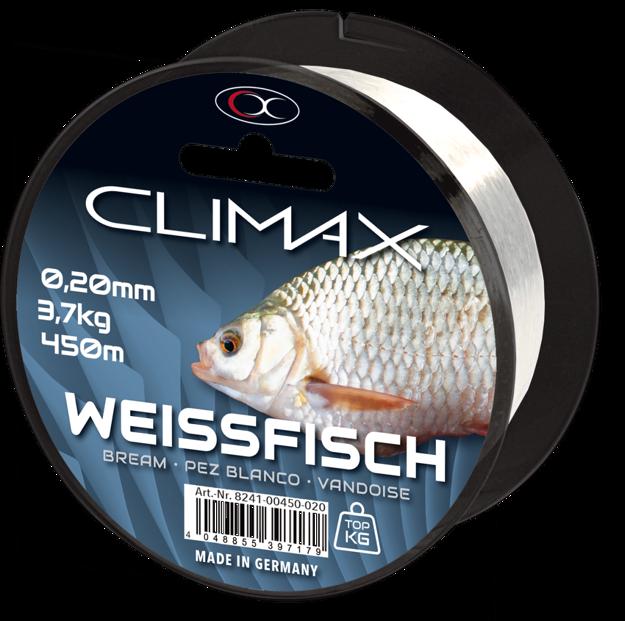 Bild von 450m 0,18mm Zielfisch Weissfisch weiß