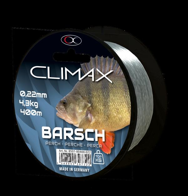 Bild von 400m 0,25mm  Zielfisch Barsch hellgrün