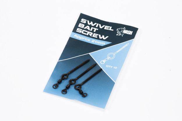 Bild von Nash 8mm Metal Bait Screw w Swivel