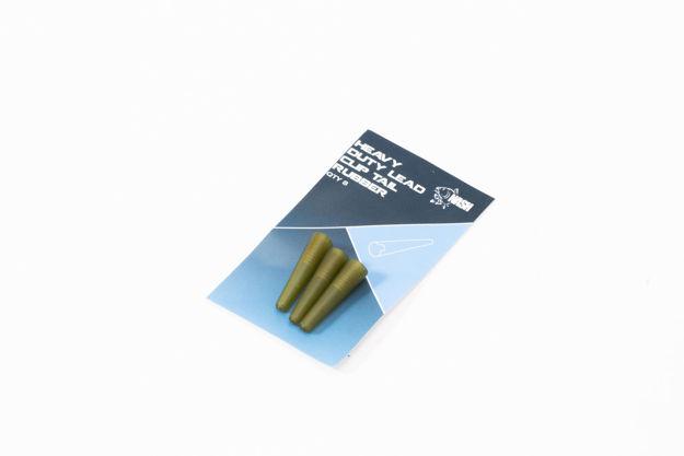 Bild von Heavy Duty Lead Clip Tail Rubbers