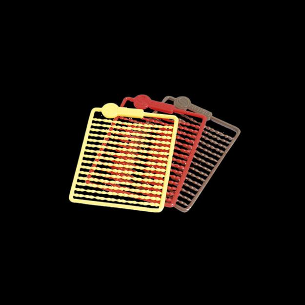 Bild von Micro Hair Stops - Red, Brown, Yellow