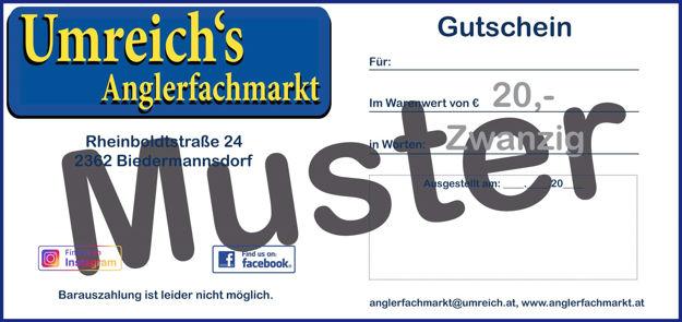 Bild von Gutschein 20 Euro