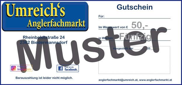 Bild von Gutschein 50 Euro