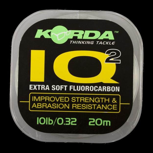 Bild von IQ Extra Soft Fluorocarbon Hooklink 15lb