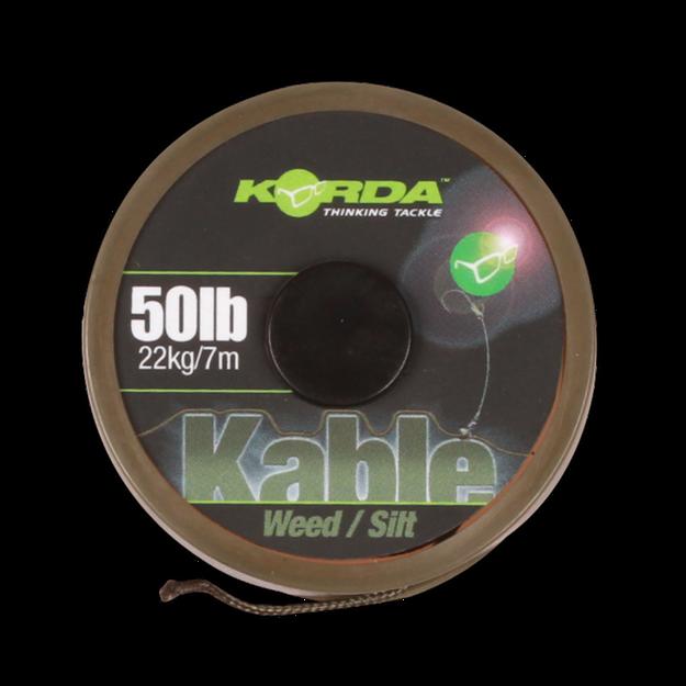 Bild von Kable Leadcore Weed / Silt 7 m.