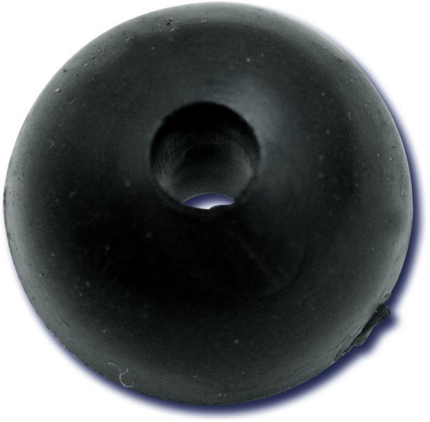 Bild von Black Cat Rubber Shock Bead 10mm