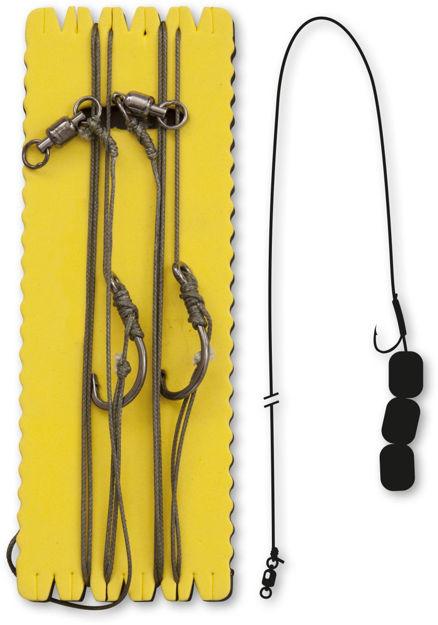 Bild von Black Cat Pellet & Chunk Rig Short Hair 6/0 100kg ,00m