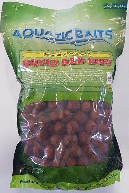 Bild von Aquaticbaits Squid Red HNV Boilies