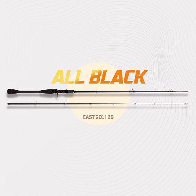 Bild von Zeck All Black Cast 201cm 28g